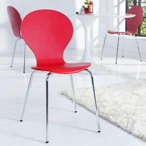 chaises rouges pour la cuisine ebay