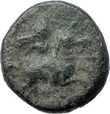 DARDANOS in TROAS Rare Authentic Ancient 350BC Greek Coin HORSE ROOSTER i73463