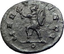 AURELIAN  MART PACI Mars  270AD Mediolanum  Authentic Ancient Roman Coin i73433