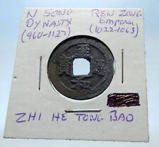 1022AD CHINESE Northern Song Dynasty Antique REN ZONG Cash Coin of CHINA i72718