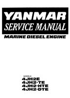 MANUAL TALLER YANMAR LHA Series WORKSHOP 4LHA SERVICE 4LHA