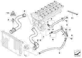 2007 Bmw 328i Radiator Hose Diagram
