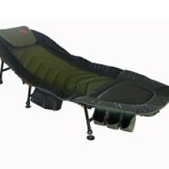 Fishing Chair Bed Reviews Backrest For Chairs Ebay Foxhunter Portable Xl Camping With Tackle Storage