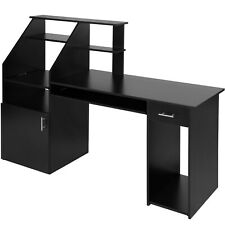 d ordinateur meuble informatique noir