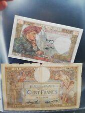 500 Anciens Francs En Euros : anciens, francs, euros, Billet, Anciens, Francs, Vente, Monnaies