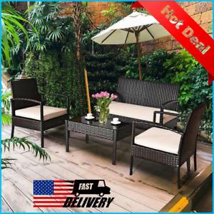 giantex patio garden furniture sets