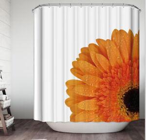 novelty orange shower curtains for sale