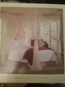 vintage retro bed netting canopies