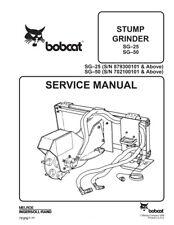 Bobcat Heavy Equipment Parts & Accessories for Stump