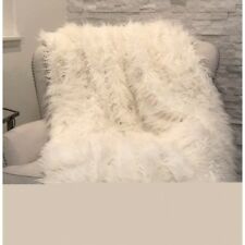 faux fur king size blankets throws
