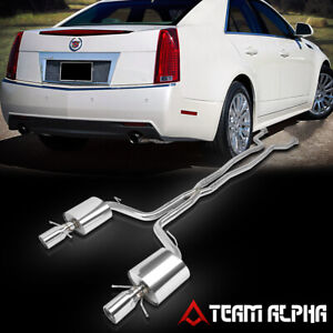 exhaust systems for cadillac cts for