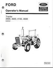 New Holland Heavy Equipment Manuals & Books for Tractor
