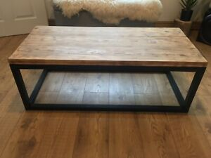 large solid wood coffee table for sale