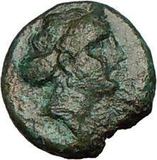 GREEK City 250BC Ancient Greek Coin APOLLO Eagle on Thunderbolt  i24929