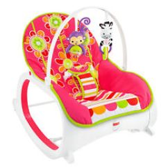 Vibrating Chair Baby Lazy Boy Lift Chairs Medicare Infant Bouncers Ebay Pink