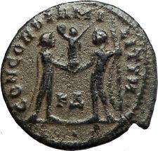 MAXIMIAN 295AD Cyzicus Authentic Ancient Roman Coin JUPITER ZEUS i76690