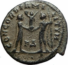 MAXIMIAN 295AD Cyzicus Authentic Ancient Roman Coin JUPITER ZEUS i76690