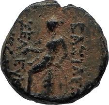 SELEUKOS III Keraunos 225BC Seleukid Ancient Greek Coin ARTEMIS & APOLLO i67522