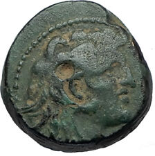 ALEXANDER I BALAS Authentic Ancient 152BC Seleukid RARE R1 R2 Greek Coin i68052