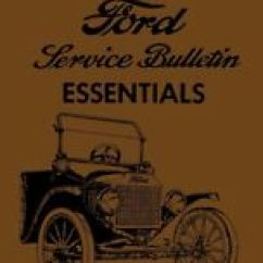 1924 Ford Model T Wiring Diagram Toyota Land Cruiser 80 1996 Electrical Repair Manuals Literature For Ebay 1909 1914 1919 1927 Service Bulletin Essentials Oem Fits