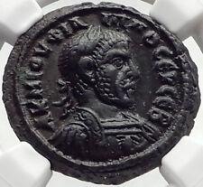PHILIP I the Arab Authentic Ancient 244AD Alexandria Egypt Roman Coin NGC i70264