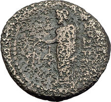 SARDES in LYDIA 133BC Authentic Ancient Greek Coin TYCHE & ZEUS w EAGLE i63232