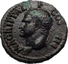 Marcus Vipsanius Agrippa Augustus General Ancient Roman Coin of CALIGULA i69264