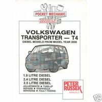 VW Volkswagen Transporter Kombi T5 T4 Workshop Repair