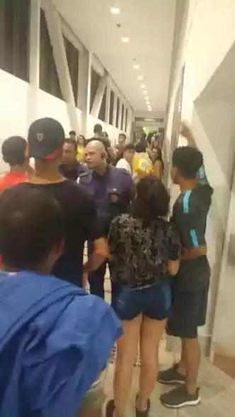 Testemunhas dizem que após chegada da PM, seguranças passaram a pedir documentos de todos os menores(foto: Reprodução)