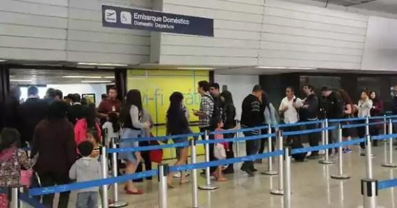 Aeroporto de Confins terá teste de embarque com reconhecimento facial
