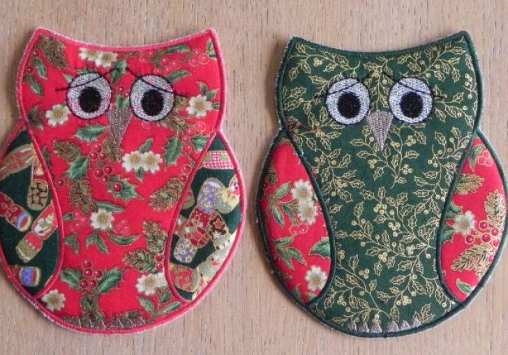 Mug Rug Embroidery Design Ideas