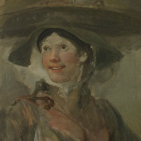 Detalle de William Hogarth, The Shrimp Girl, hacia 1740-5 © The National Gallery, Londres