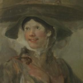 Detalle de William Hogarth, The Shrimp Girl, hacia 1740-5 © The National Gallery, Londres