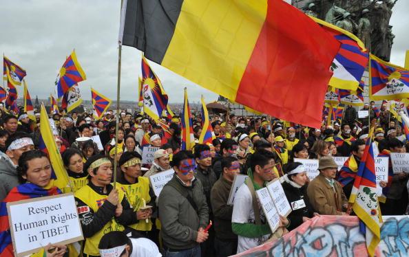 外電:中共武力鎮壓西藏抗議 國際關注 | 中共西藏 | 大紀元
