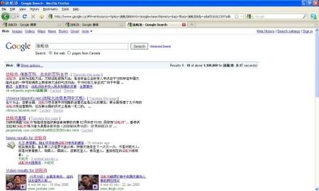 揭秘谷歌中國對敏感詞彙的驚人過濾   天安門自焚   法輪功   網絡封鎖   大紀元