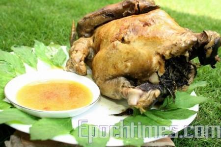 苦茶油薄荷雞 美味又養生 | 大紀元