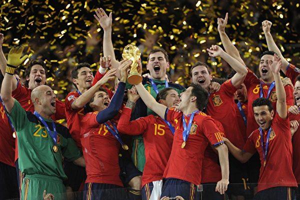 組圖:荷蘭VS西班牙賽場風雲   世界盃   大紀元