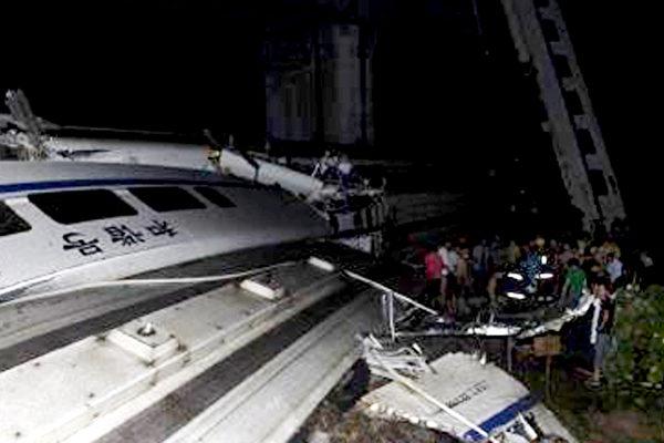 溫州動車慘案 鐵路內部人士揭黑幕   和諧號和諧號   大紀元