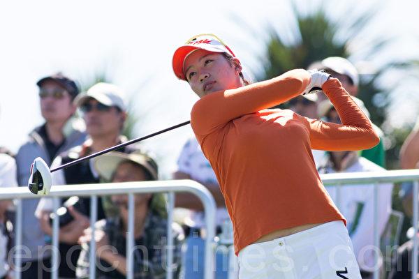 組圖:LPGA臺灣賽首輪 精彩瞬間   高爾夫球   大紀元