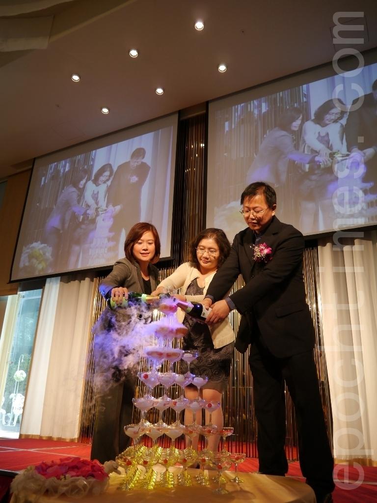 晶宴會館為竹科新人 打造主題式婚禮   婚宴   大紀元