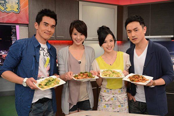 《兩個爸爸》比廚藝 楊一展賴雅妍亂中有序   林佑威   大紀元
