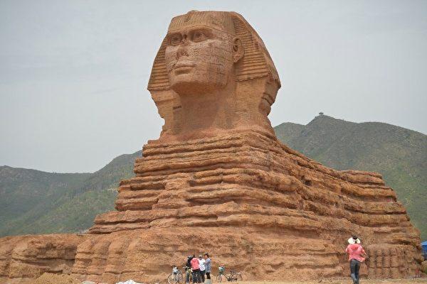 埃及向聯合國投訴中國山寨版人面獅身像 | 大紀元