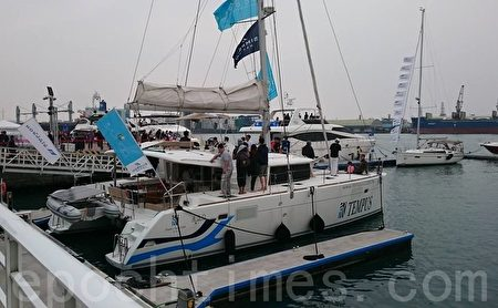 臺國際遊艇展第三天 33艘成交 | 展覽館 | 船廠 | 買主 | 大紀元