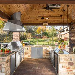 Grill For Outdoor Kitchen Counter Height Table Set 餐廳級披薩 牛排在家就能做 戶外活動 烤肉 披薩 大紀元 Kalamazoo 戶外烤肉是美國人假日最愛的活動之一 豪華的戶外廚房常見於豪宅之中 Kalamazoo提供