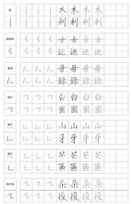 冠軍老師教你日日寫好字 (二)基本筆法 (上) | 寫字 | 書法 | 練字 | 大紀元