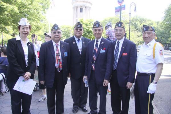 黃建中任紐約華裔退伍軍人會主席 | 換屆 | 大紀元