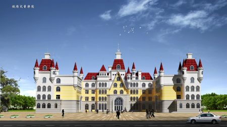 张泽建筑方案作品——幼儿园。