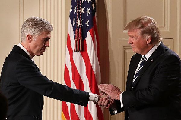 大法官任命戰再激蕩 美國政治兩極化加深 | 戈薩奇 | 最高法院 | 司法部 | 大紀元
