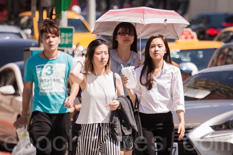 臺灣各地創史上5月高溫 這天起降溫稍微緩和 | 氣溫 | 破百年紀錄 | 臺北 | 大紀元