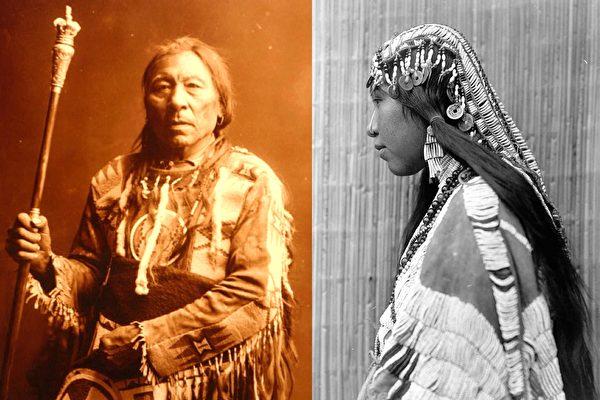110年前他拍了一組照片 讓華人看一眼就驚掉下巴 | 印地安 | 土著 | 老照片 | 大紀元